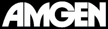 Amgen logo white