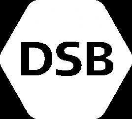 DSB logo white