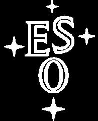 ESO logo white